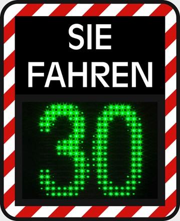 Geschwindigkeitsanzeige GR33S / C Sie Fahren 1232001