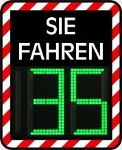 Geschwindigkeitsanzeige Sierzega GR42C 1229200