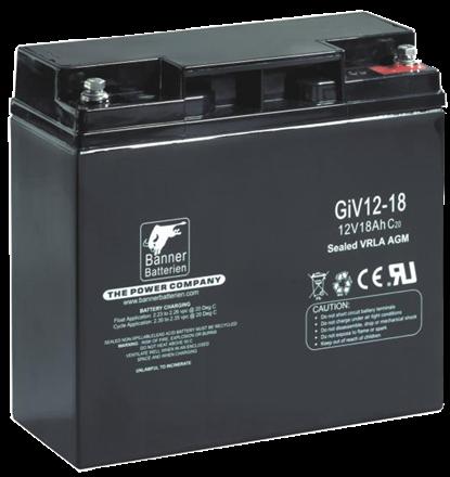 Banner Batterie GiV 12V-18Ah 5000016