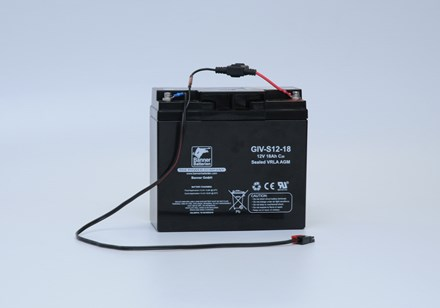 Banner Battery GiV 12V-18Ah incl. Cable 5000062