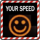 Sierzega SP4568SQ Radar Speed Display Sign