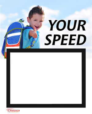 Emotional children's motif for Sierzega Speed Displays