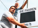 City of Haiger increases traffic safety using 16 Sierzega Speed Displays