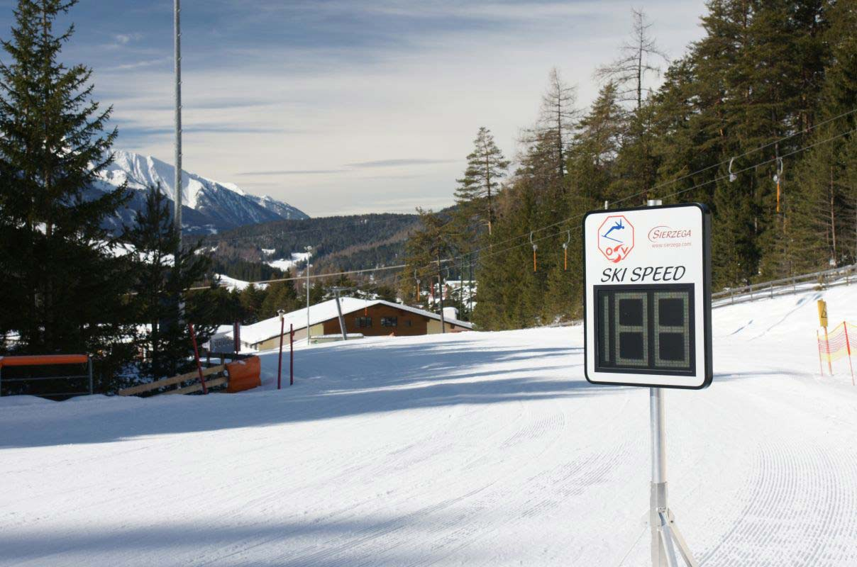 Sierzega GR32C Radar Speed Detection Sign Sports Application